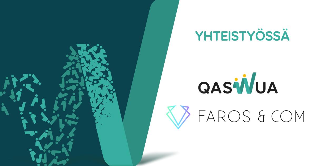 Faros & Com ja Qaswua Design & Development ovat aloittaneet palvelumuotoilun koulutuksiin liittyvän yhteistyön, jonka tavoitteena on tuottaa Faros & Comille erilaisia palvelumuotoilun koulutus- ja valmennuspäiviä.