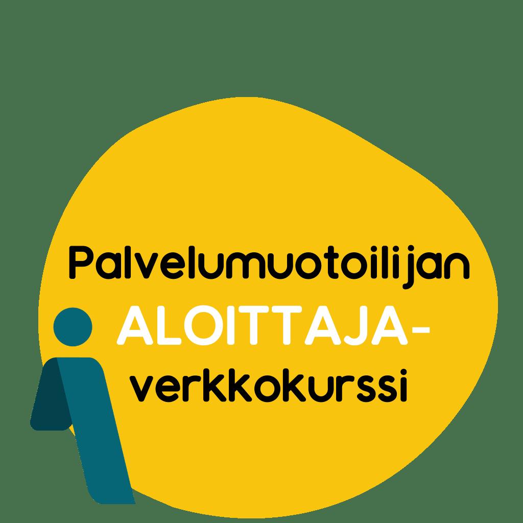 Palvelumuotoilun ALOITTAJA-verkkokurssi