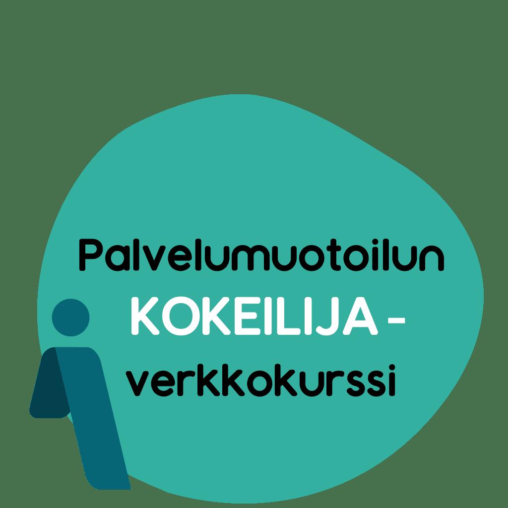 Palvelumuotoilun KOKEILIJA-verkkokurssi