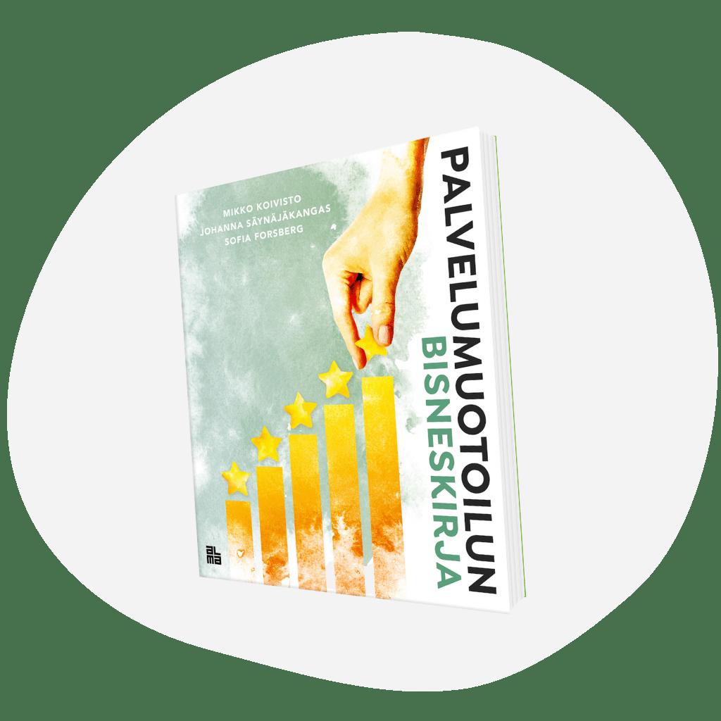 Palvelumuotoilun bisneskirjan tekemisestä kertovat Palvelumuotoilun kasvutarinoita podcastissa kirjan kehittäjät ja kirjoittajat