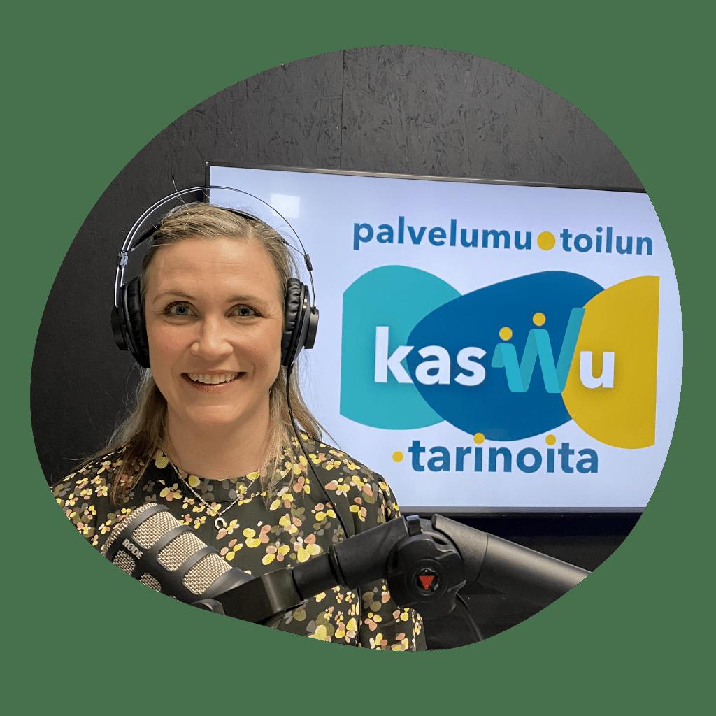Riikka Vainikka vieraana Palvelumuotoilun kasvutarinoita podcastissa